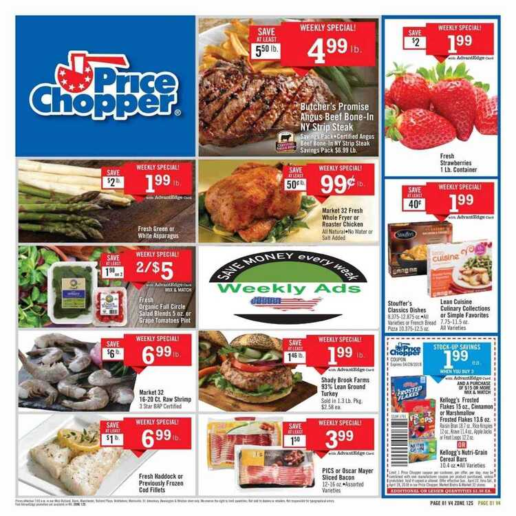 price chopper weekly flyer vermont April 22 to 28