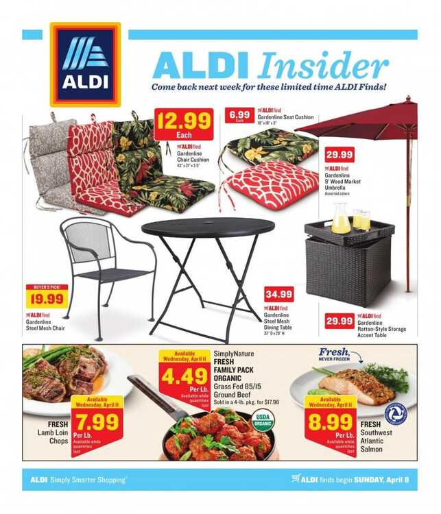 aldi weekly ad for april 2018