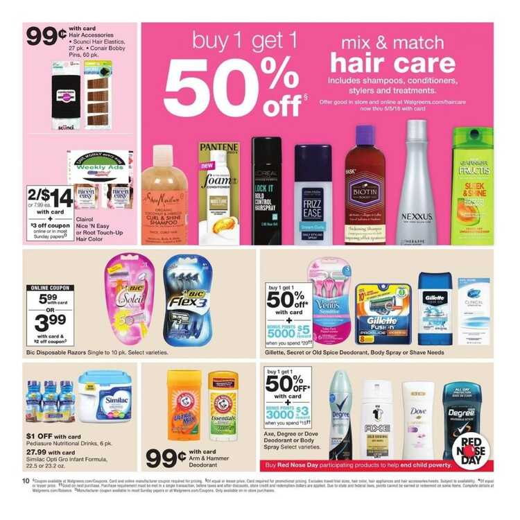 walgreens ad preview 4/15/18 to 4/21/18 April 15-21 2018