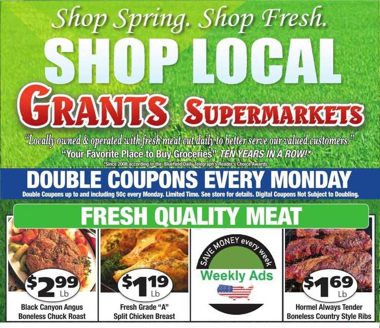 grants weekly ad 4/14