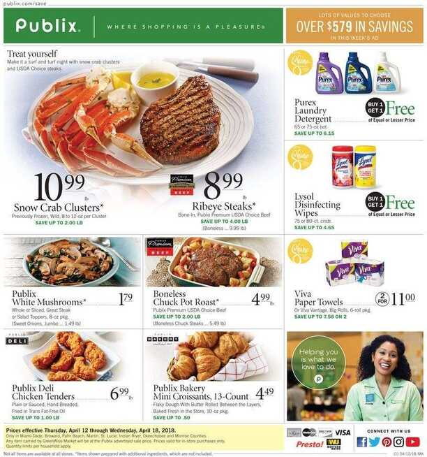 publix weekly ad circular preview