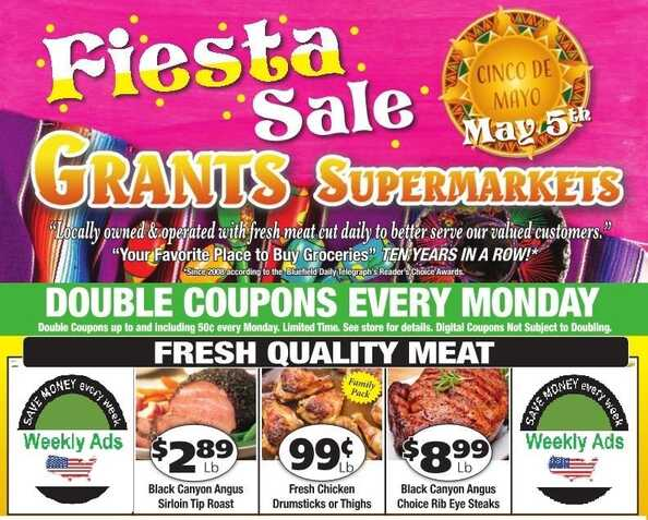 grants weekly ads most stores