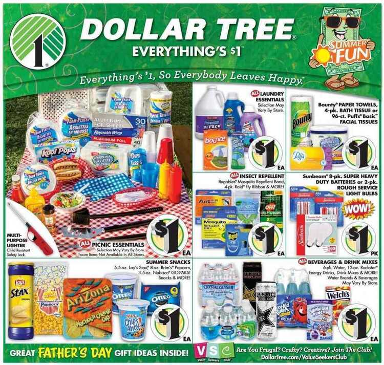 dollar tree ad this week 5/31 to 6/9 2018