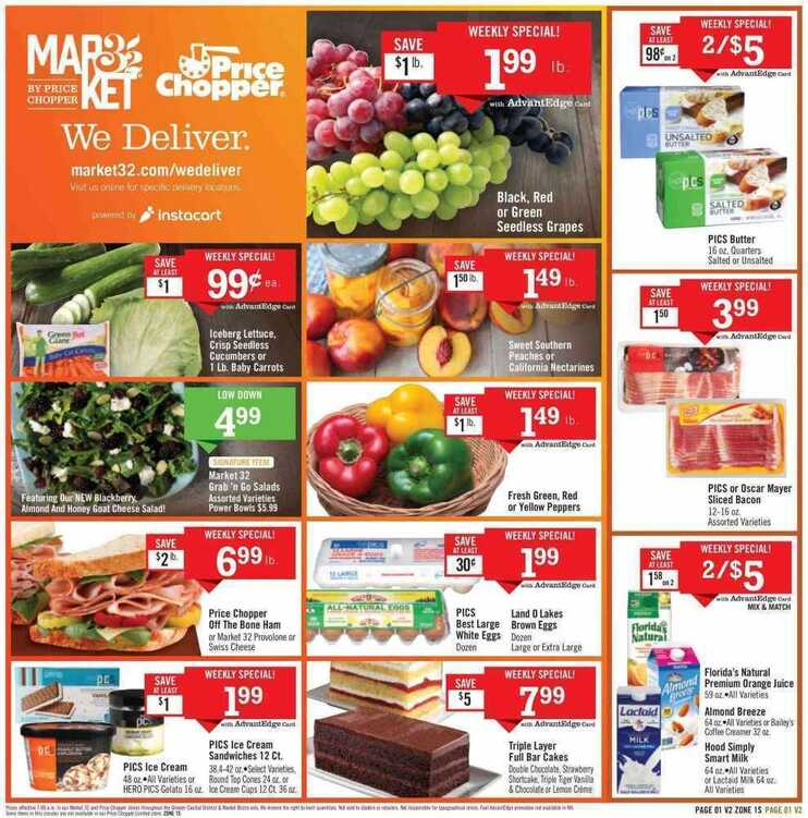 price chopper weekly flyer 6/13 to 6/16 2018