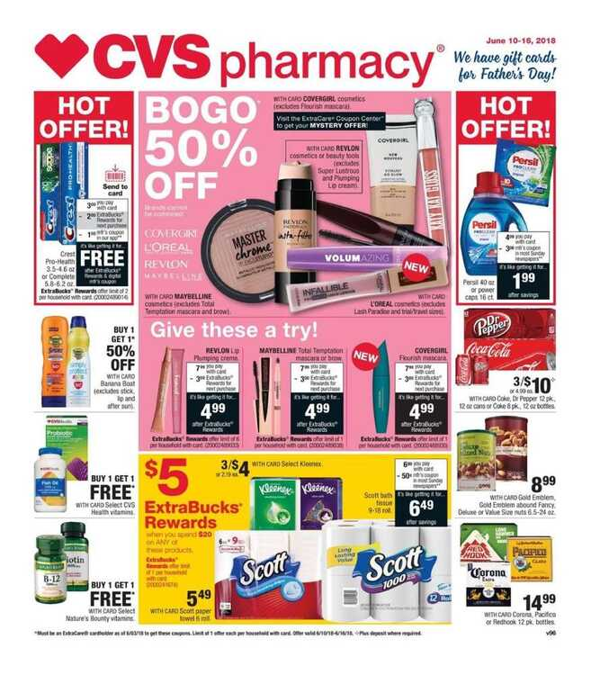 cvs weekly ad 6/13 to 6/16 2018