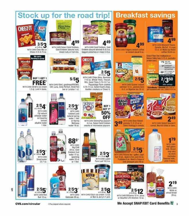 cvs weekly ad July 1 to July 6 2018 Big 4th of July Deals