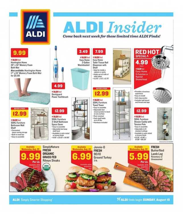 aldis sales ad from last week 8/19 to 8/25 2018