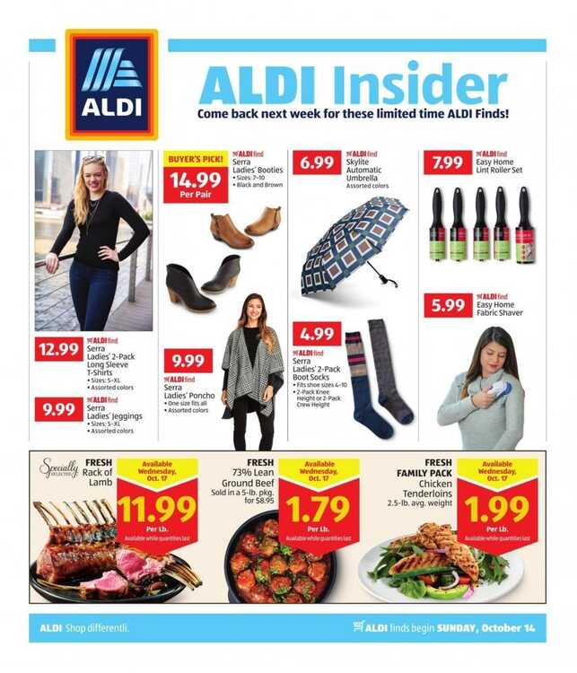 aldi insider weekly ad 10/15 to 10/20 2018 Big Aldi Ads