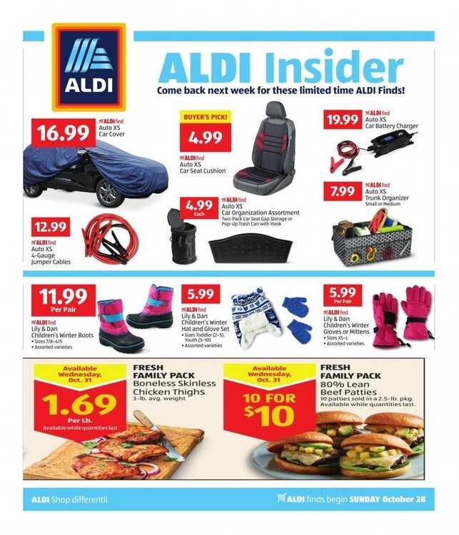 aldi weekly ad 10/28 to 11/3 2018 ALDI INSIDER