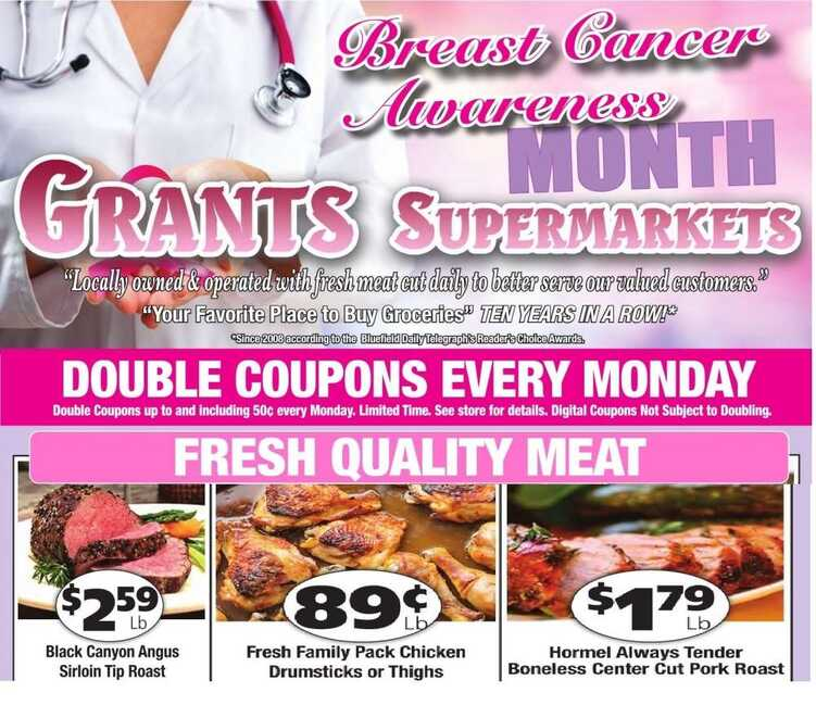 grant's weekly ad 10/11