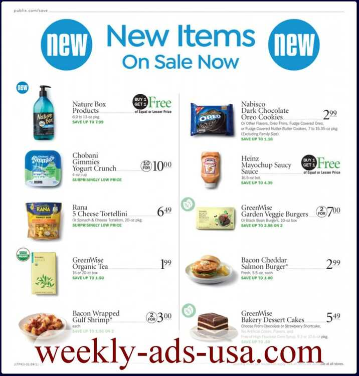publix weekly ad 1/25